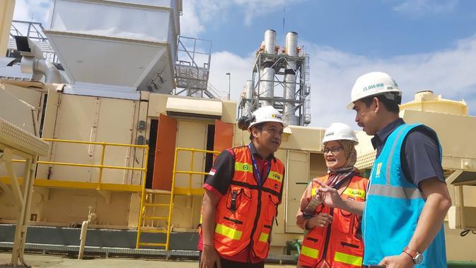 Pembangkit listrik tenaga diesel dan gas (PLTDG) Pesanggaran merupakan salah satu pemasok listrik Bali.