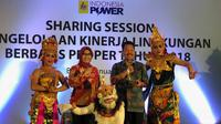Rangkaian acara Coastal Clean Up Indonesia Power.