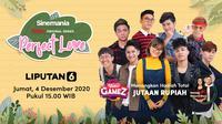 Sinemania Vidio original series Perfect Love, Jumat (4/12/2020) pukul 15.00 WIB bersama Aci Resti dan UN1TY dapat disaksikan melalui platform Vidio. (Dok. Vidio)