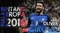 Kompilasi lima gol terbaik Olivier Giroud  striker Arsenal yang juga andalan lini depan Timnas Perancis sepanjang musim 2015/2016.