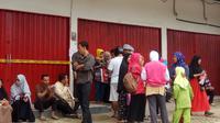 Agen travel Umrah Abu Tour cabang Palembang ternyata belum mengantongi izin dari Kemenag Sumsel (Liputan6.com / Nefri Inge)