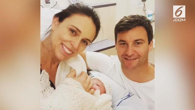 Perdana Menteri New Zealand, Jacinda Ardern, melahirkan anak perempuan di Rumah Sakit Auckland.