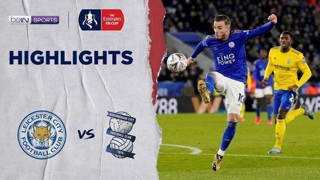 Berita Video Leicester City Menang Tipis 1-0 Atas Birmingham City