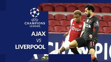 Berita motion grafis statistik Liga Champions 2020/2021 untuk laga grup D, di mana Liverpool tercatat kesulitan untuk menaklukkan Ajax pada Kamis (22/10/2020) dinihari WIB.