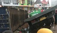 Kecelakaan beruntun terjadi di Sungai Pua Kabupaten Agam, sabtu (18/9/2021). (Liputan6.com/ ist)