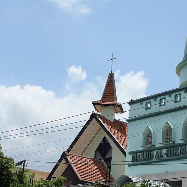 Indahnya Maulid Natal Di Masjid Dan Gereja Berdampingan Ini News