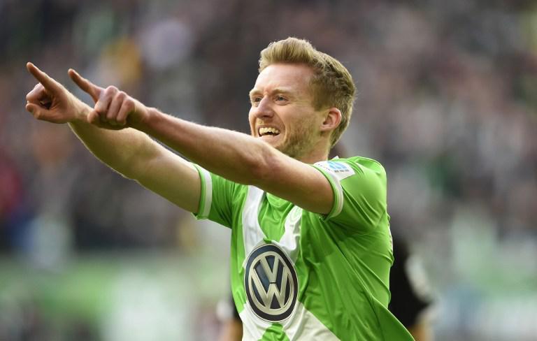 Andre Schurrle saat masih berseragam Wolfsburg. (AFP)