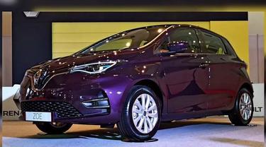 Mobil Listrik Renault Zoe Mengaspal di IIMS Hybrid 2021