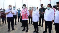 Menteri Perhubungan Budi Karya Sumadi meresmikan pengoperasian Dermaga II Pelabuhan Telaga Punggur (dok: BKIP)