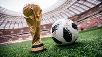 Bola resmi Piala Dunia 2018, Telstar 18. (FIFA)