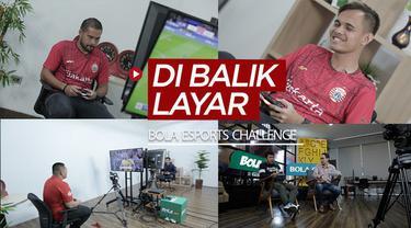 Berita video di balik layar produksi BOLA Esports Challenge yang dimeriahkan dua pemain Persija Jakarta dan para The Jakmania pada 25 dan 26 Juni 2020.