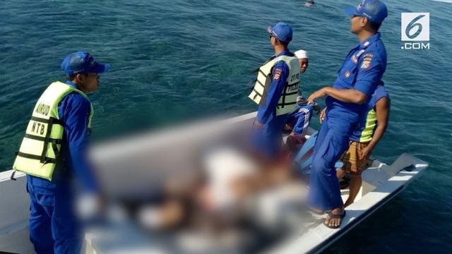 Wisatawan Prancis tewas di Lombok setelah diving di lautan.