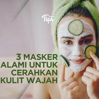 3 Masker Alami untuk Mencerahkan Kulit Wajah