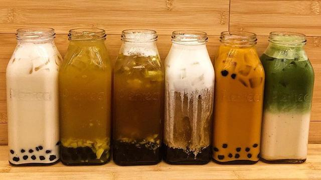 Ilustrasi bubble tea