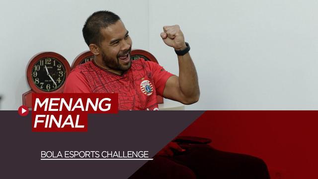 Berita Video Kiper Persija Jakarta, Andritany Ardhiyasa Sukses Juara BOLA Esports Challenge