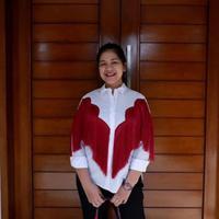 Kahiyang Ayu di ulang tahun Iriana Jokowi