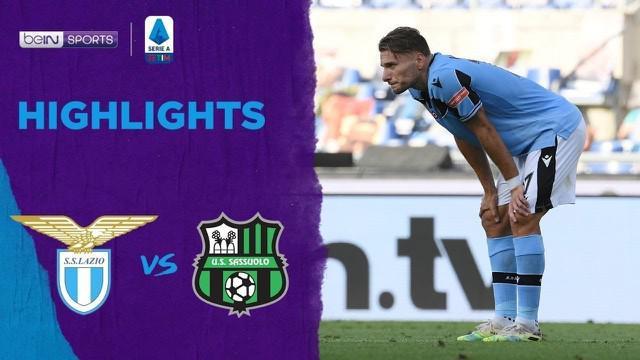 Berita Video Highlights Serie A, Lazio Tumbang atas Sassuolo 1-2