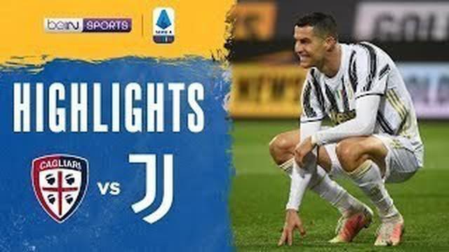 Berita video highlights Liga Italia, hattrick Cristiano Ronaldo bawa Juventus menang 3-1 lawan Cagliari, Senin (15/3/21)