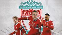 Liverpool - Martin Odegaard, Sasa Kalajdzic, Kenny Tete (Bola.com/Adreanus Titus)