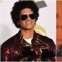 Masih 4 tahun, Bruno Mars jadi impersonator Elvis Presley profesional.