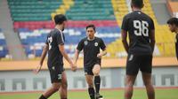Sesi latihan PSS Sleman di Stadion Wibawa Mukti, Cikarang, Bekasi baru-baru ini. (Dok PSS Sleman)