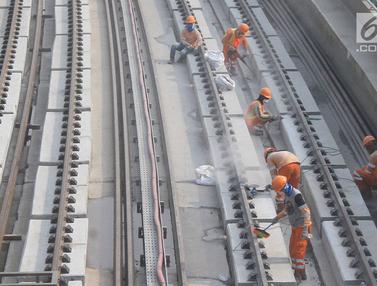 LRT Cawang-Cibubur Bakal di Uji Coba Pertengahan Tahun Ini
