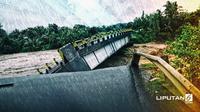 Banner Infografis Banjir Bandang dan Longsor di Sulsel. (Liputan6.com/Abdillah)