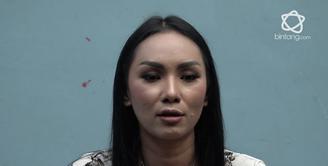 Kalina Oktarani meminta doa agar dirinya segera mendapatkan momongan.