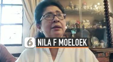Menteri Kesehatan Republik Indonesia, Nila F Moeloek, mengaku bahwa dia berteman baik seluruh menteri di Kabinet Kerja I Joko Widodo (Jokowi) dan Jusuf Kalla.