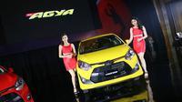New Toyota Agya punya dua varian mesin.