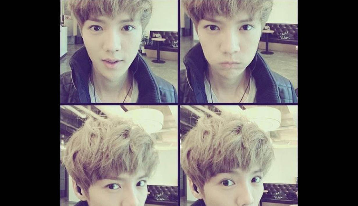 Luhan merupakan eks member   boyband Korea Selatan EXO-M,   yang merupakan sub unit   kelompok EXO.   (instagram.com/7_luhan_m)