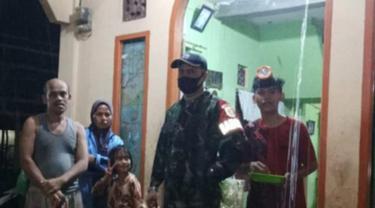 Banjir melanda Nagari Manggilang, Kabupaten Limapuluh Kota pada Kamis (29/4/2021) malam.