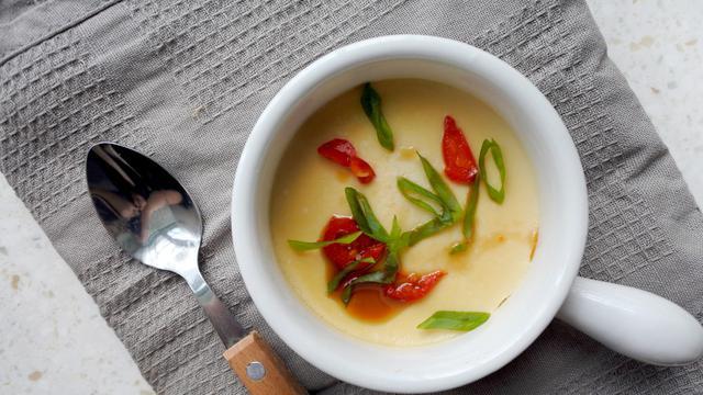 resep telur kukus  bahan silky lembut  mulut lifestyle fimelacom Resepi Telur Dadar Daging Cincang Enak dan Mudah
