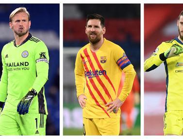 FOTO: 7 Pemain Paling Loyal di Eropa, Lionel Messi Cuma Runner-Up