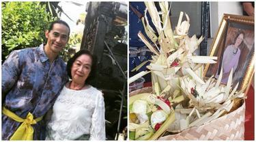 Ibunda Meninggal Dunia, Ini 6 Momen Ade Rai dan Keluarga Lakukan Prosesi Ngaben
