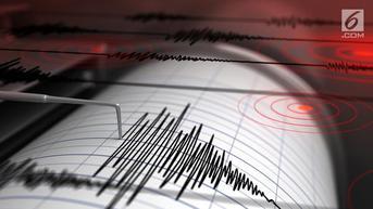 Gempa Magnitudo 5 Getarkan Melonguane Sulawesi Utara