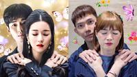 Potret Chika Jessica Parodikan Adegan Drama Korea. (Sumber: Instagram/chikajessica88)