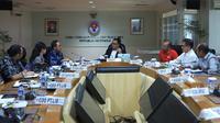 Pertemuan antara delegasi PSSI dan Menteri Pemuda dan Olahraga, Imam Nahrawi, di Kantor Kemenpora RI, Jakarta, Rabu (21/2/2018). (Dok. Kemenpora)