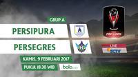 Piala Presiden 2017_Persipura Jayapura Vs Persegres Gresik United (Bola.com/Adreanus Titus)