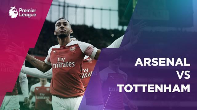 Berita video statistik pertandingan Arsenal Vs Tottenham Hotspur, Aubameyang mencetak dua gol kemenangan Arsenal 4-2 di Emirates Stadium, Minggu (2/12/2018).