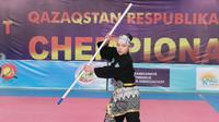 Asosiasi Pencak Silat Republik Kazakhstan, didukung oleh KBRI Nur-Sultan menggelar Kompetisi Pencak Silat Nasional di Kazakhstan Tahun 2020 di Kota Shymkent pada 7-11 Desember 2020. (Photo credit: Kementerian Luar Negeri RI).