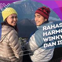 Belum Memiliki Momongan, Winky Wiryawan dan Kenes  Tetap Harmonis