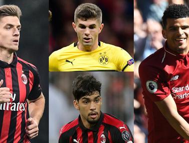 Top 10 Transfer Pemain Sepak Bola Eropa Paruh Musim 2018/19