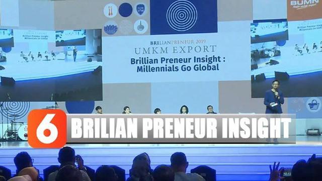 """Talkshow ini merupakan rangkaian pameran bertajuk """"UMKM Export Brilian Preneur 2019"""" yang diikuti 155 UMKM binaan Bank BRI dan Rumah Kreatif BUMN BRI."""