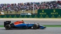 Pembalap Manor Racing, Rio Haryanto. (JOHANNES EISELE / AFP)