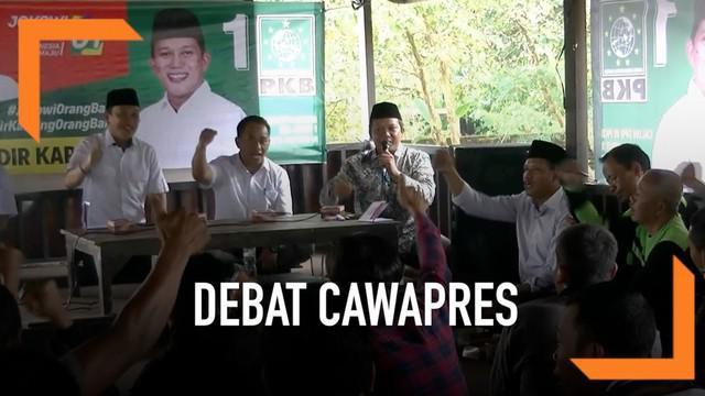 TKN Jokowi-Ma'ruf yakin debat cawapres yang akan segera dilaksanakan bakal dimenangkan oleh Ma;ruf Amin.