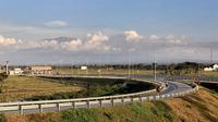 Pembangunan konstruksi fisik dan pembebasan lahan jalan Tol Solo-Ngawi sudah rampung 100 persen. (Dok Kementerian PUPR)