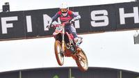 Muhammad Delvintor Alfarizi menjadi crosser debutan yang dimiliki Astra Honda Racing Team. (Foto: AHRT)