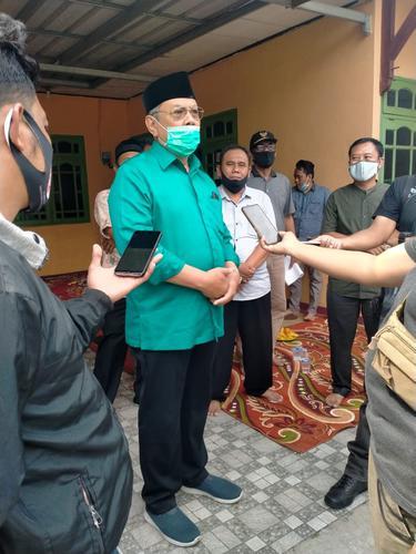 Calon Wali kota petahana Kota Tangerang Selatan (Tangsel), Benyamin Davnie