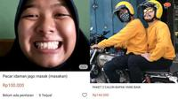 6 Aksi Kocak Orang 'Jualan Kekasih Idaman' di Online Shop Ini Bikin Ngakak (sumber: Twitter.com/girlinthedress dan Twitter.com/awcemi)